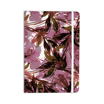 "Ebi Emporium ""Floral Fiesta Mauve Pink"" Pattern Watercolor Everything Notebook"