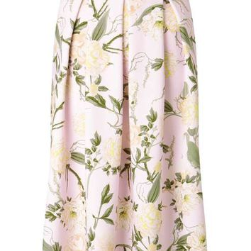 Pink Floral Midi Skirt - View All - Sale & Offers