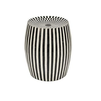 Worlds Away Pippa Stool