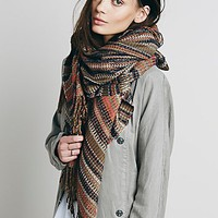 Free People Womens Convertible Scarf Ruana