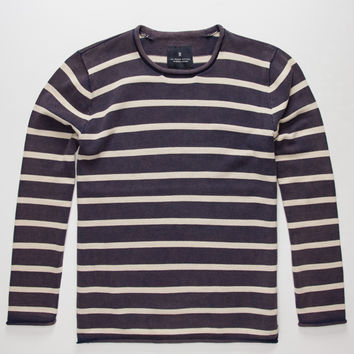 Roark Bindos Mens Sweater Navy  In Sizes