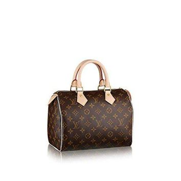 DCCKON Louis Vuitton Monogram Canvas Speedy 25 M41109 tote bag
