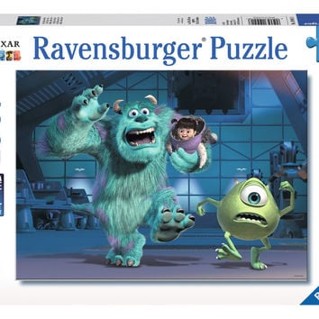 Ravensburger Disney Pixar™ Monsters Inc.: Sully, Mike & Boo (100 pc XXL Puzzle) 10941