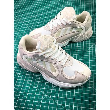 Adidas Originals Yung 1 White Beige Yung-1 Yeezy 700 Wave Runner