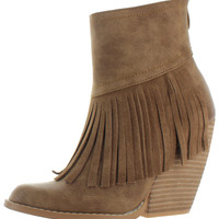 Very Volatile Contempo Women's Fringe Booties Boots
