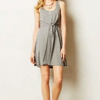 Joie Tie-Front Dress by Everleigh Light Grey