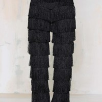 Lavish Alice x Lindsay Lohan High Gear Fringe Pants