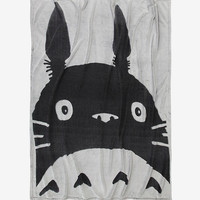 Studio Ghibli My Neighbor Totoro Tonal Throw Blanket