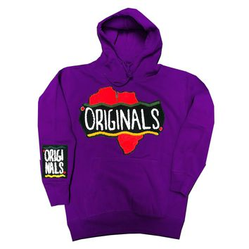 Originals Motherland Hoodie in Purple