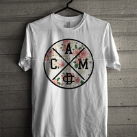 Cameron Dallas c.a.m floral -5tL Unisex T- Shirt For Man And Woman / T-Shirt / Custom T-Shirt