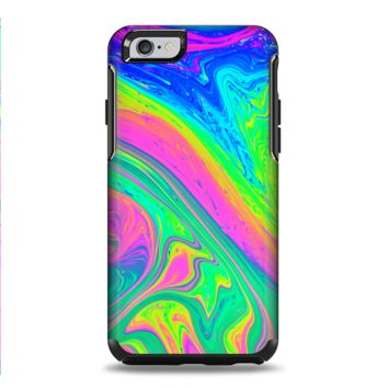 The Neon Color Fushion V3 Apple iPhone 6 Plus Otterbox Symmetry Case Skin