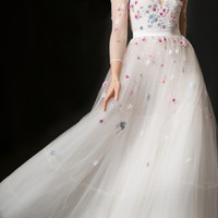 Lucille Embellished A-line Dress | Moda Operandi