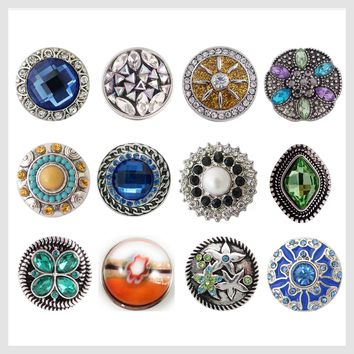 Set of 12 Snap Charms 19-21mm