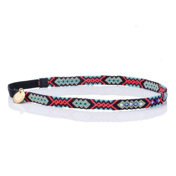 Wayuu Headband - Navy