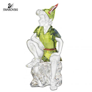 Swarovski Color Crystal Disney Figurine PETER PAN #1077772