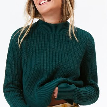 Lottie Moss Mock Neck Pullover Sweater at PacSun.com