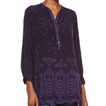 Women's Long Tunic w/ Mini Pocket - Johnny Was Collection