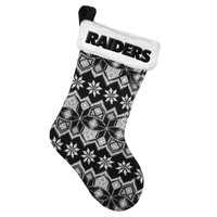 Oakland Raiders 2015 Knit Stocking