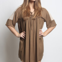 Umgee Baby Doll Tunic Dress