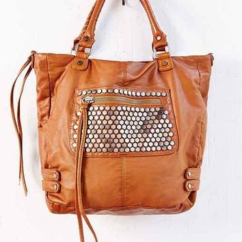 Pins And Needles Hexagon Stud Tote Bag-