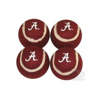 DCCKIV4 Alabama Crimson Tide Tennis Ball 4-Pak