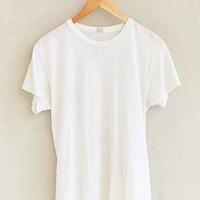 Vintage Super Soft White Tee- Assorted One