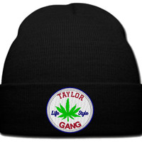 taylor gang life style beanie knit hat