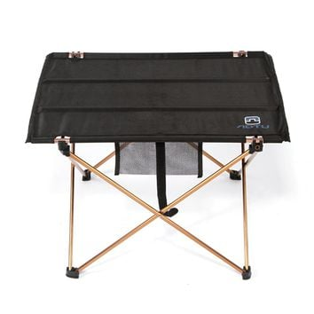Outdoor Folding Table Ultra-light Aluminum Alloy Structure Waterproof Camping Table Furniture Foldable Picnic Table