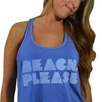 Beach Please Tank