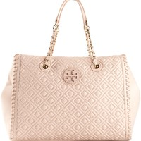 Tory Burch 'Marion' Quilted Slouchy Tote