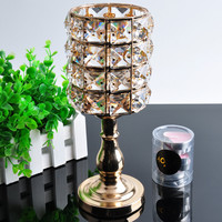 AOCAI Crystal Candlestick Holder