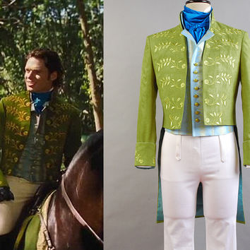 Prince Charming Costume, Charming Cosplay, Charming Richard Madden Forest Cosplay Costume