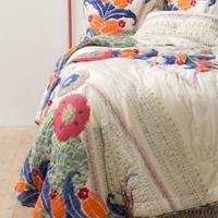 Saray Quilt by Anthropologie Multi Queen Bedding