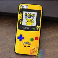 pokemon gameboy fashion cell phone case for iphone 4 4s 5 5s 5c SE 6 6s & 6 plus & 6s plus