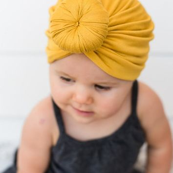 Baby Top Knot Turban