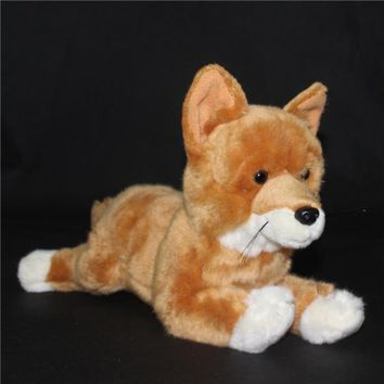 Basenji Dog Stuffed Animal Plush Toy 12""