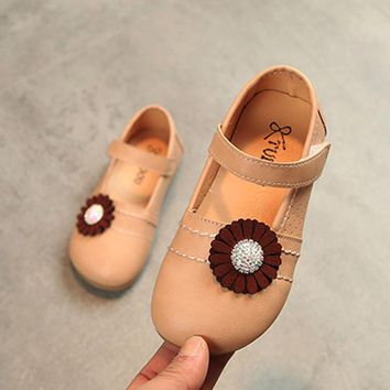 shoes for girls Baby Fashion Toddler Children Floral Ballerina Pricness Casual Flat Shoes New Summer Sweet sandals kids shoes