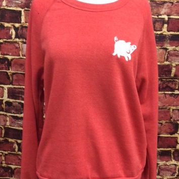 Be Hogalicious - The Embroidered Pig Sweatshirt
