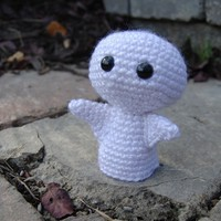 Instant Download Crochet Pattern - Halloween Ghost Amigurumi