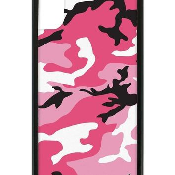 pink camo iphone x case  number 1