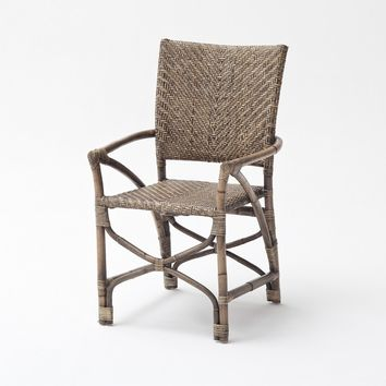 Wickerworks Countess Chair (set of 2) Natural Rustic