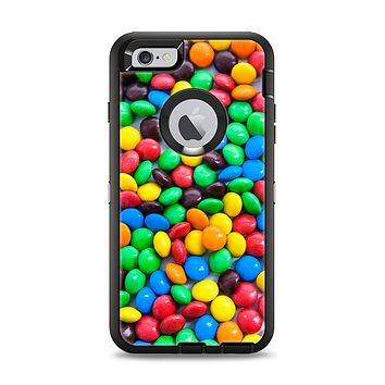 The Colorful Candy Apple iPhone 6 Plus Otterbox Defender Case Skin Set