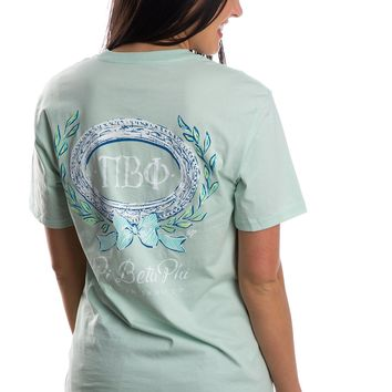 Pi Beta Phi Greek Ivy Tee - Short Sleeve