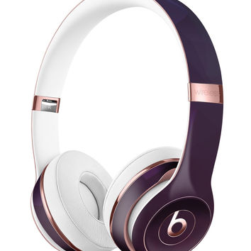Dark Purple and Pink Geometric Shapes Full-Body Skin Kit for the Beats by Dre Solo 3 Wireless Headphones
