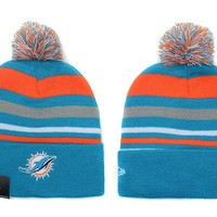 Miami Dolphins Beanies New Era NFL Football Hat