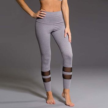 Wide Waist Band Fitness Yoga Pants