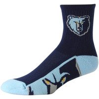 Memphis Grizzlies Zoom Socks – Navy Blue