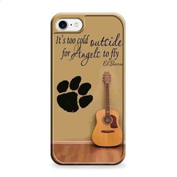 Ed Sheeran Guitar And Song Quotes iPhone 6 Plus | iPhone 6S Plus case