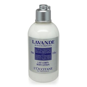 L'Occitane  Lavender Organic Body Lotion Pleasantly Scented 250ml