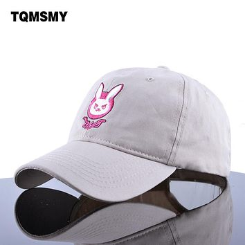 TQMSMY Baseball Cap women's DVA Embroidery Rabbit Snapback Caps women Soft comfortable dad hat Hip Hop bone sun hats for girls
